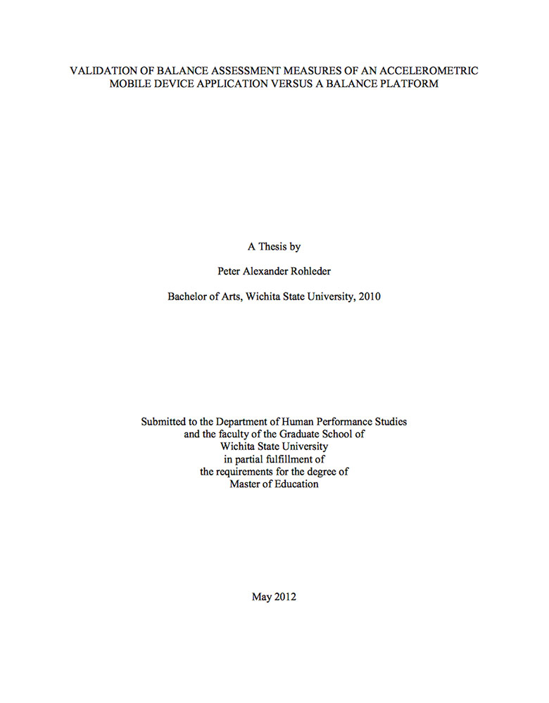 validation of research instrument in thesis Development and validation of a research-based assessment: reasoning about p-values and statistical significance a thesis submitted to the faculty of the graduate school.